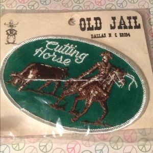 Vintage Old Stock Cutting Horse Patch